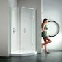 Matki Original Illusion Quintesse Corner Shower Enclosure