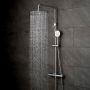 Vado Aquablade Thermostatic Shower Kit with Fixed and Adjustable Handset