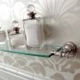 Imperial Avignon Wall-Mounted Glass Shelf 75cm