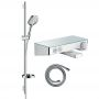 Hansgrohe Round Raindance Select Kit with Shower & Bath Filler Valve