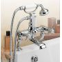 Tre Mercati Imperial Pillar Bath Shower Mixer