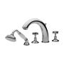 Tre Mercati Imperial 4 Hole Bath Shower Mixer